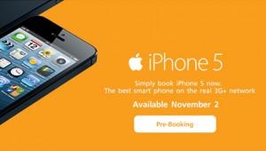 เปิดจอง iphone 5
