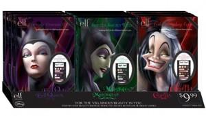 e.l.f. Limited Edition Disney Villainous Villains Makeup Books