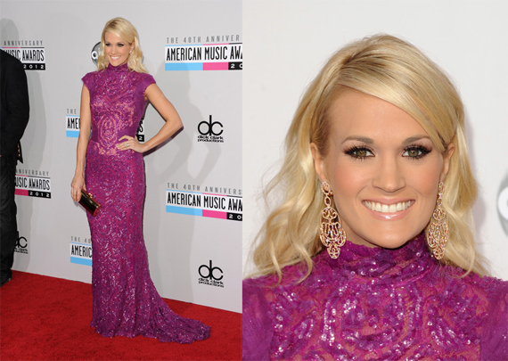 American Music Awards 2012 Carrie Underwood