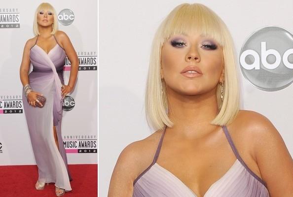 American Music Awards 2012 Christina Aguilera