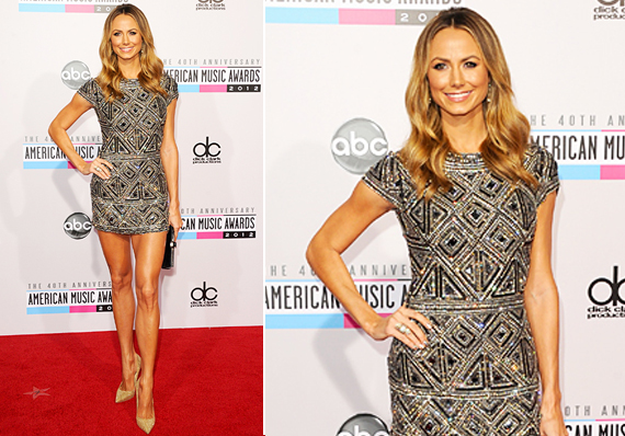 American Music Awards 2012 Stacy Keibler