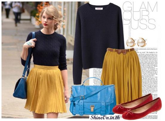 Celebrity Style Taylor Swift