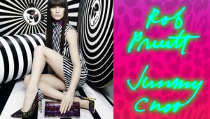 Rob Pruitt for Jimmy Choo Cruise 2013