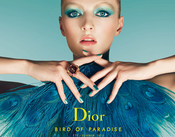 Dior bird of paradise summer