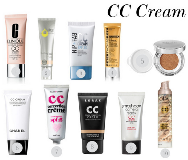 BB Cream VS CC Cream